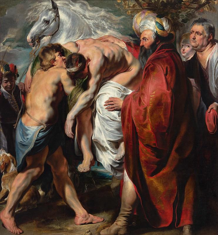 Jacob Jordaens - The Good Samaritan (c.1616)