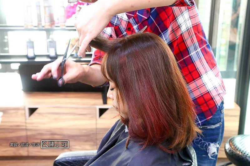 台中VS. hair 髮型沙龍【台中髮廊推薦】vs.hair salon(VS Hair髮廊新地址、近逢甲夜市),上班族挑染初體驗超好看、推薦哥德式護髮
