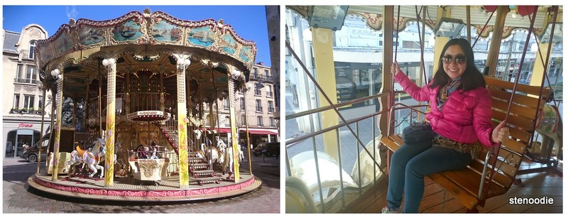 merry-go-round in Reims France