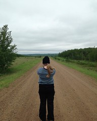 Taking photos of the lovely though grey Alberta landscape this weekend on the way into Buckingham House & Fort George :camera::sweat_drops: - #camping #Alberta #maylong #travel #albertatourism #buckinghamhouse #fortgeorge #abhistory #thegreatoutdoors #myg