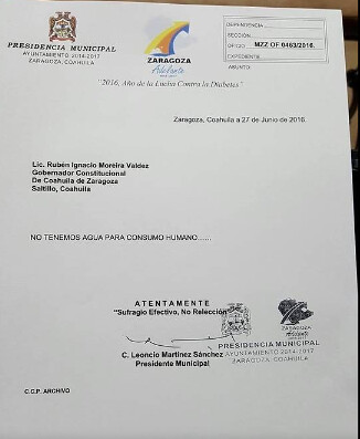 gobierno de coahuila de zaragoza: