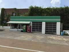 Gas Station.  McComb, Mississippi.