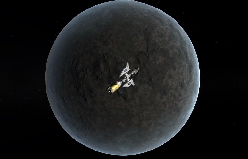 04-17 Serran Probe Plane Arriving