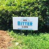 Now that's my kind of yard sign. Thanks, @bittersoutherner ! #votebitter #2016