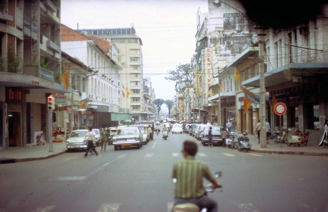 Saigon 1969-70 - Photo by David Mays - Đường Tự Do