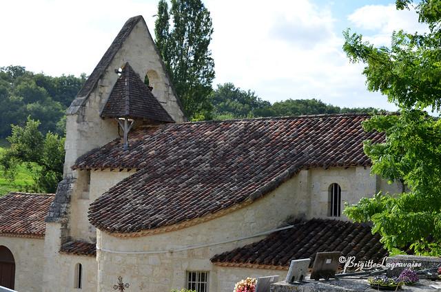 Eglise Notre-Dame de Cabalsaut (saut du cheval), St-Pierre de Clairac (Lot-et-Gar)