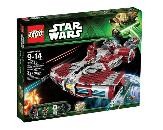 LEGO Star Wars 75025 - Jedi Defender-Class Cruiser - BoxArt