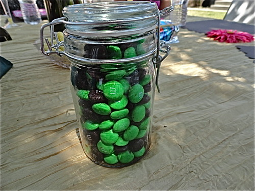 Guess how many M&M's are in the jar!