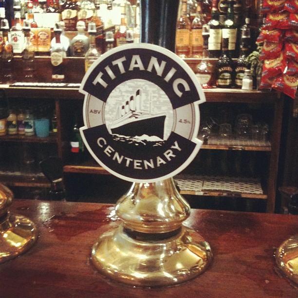 Cerveza Titanic Centenary