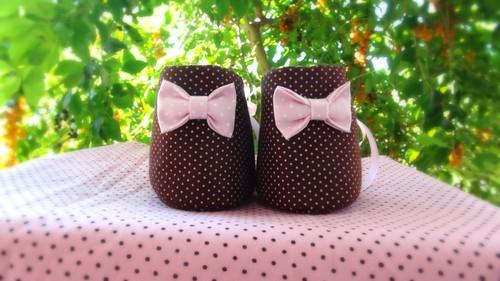 Botinha de  Bebê by Cute for Baby by Mirian Rezende
