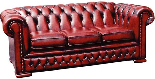 Sillon chesterfield elegante sofa acolchado de estilo for Sofas tipo ingles