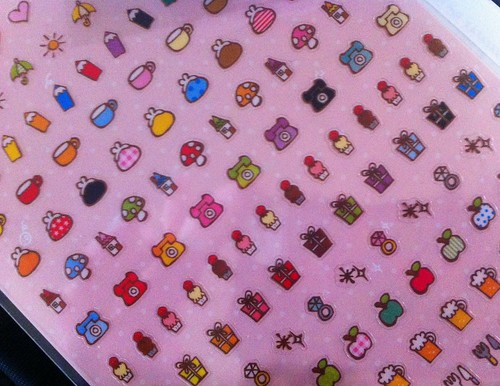 Diary stickers from Japan