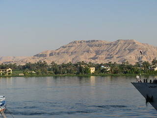 The Nile in Luxor