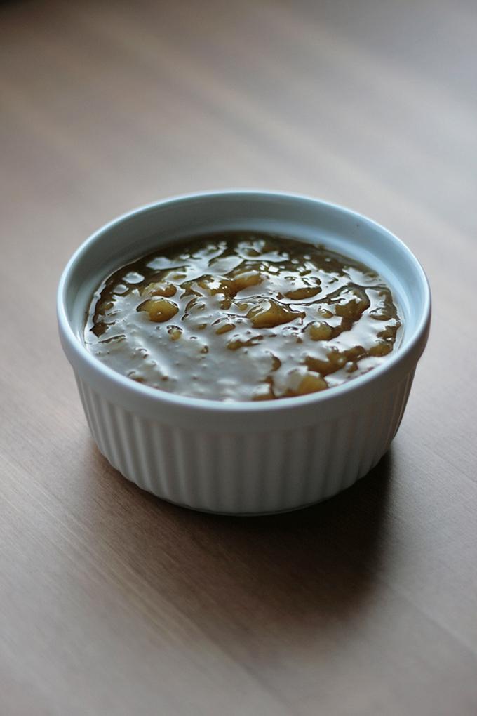 Vanilla Rhubarb Compote