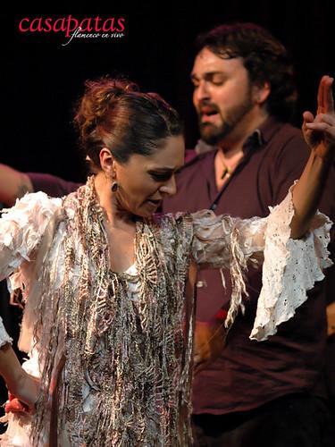 Mónica Fernández, bailaora, estará esta semana en Casa Patas. Foto: Martín Guerrero