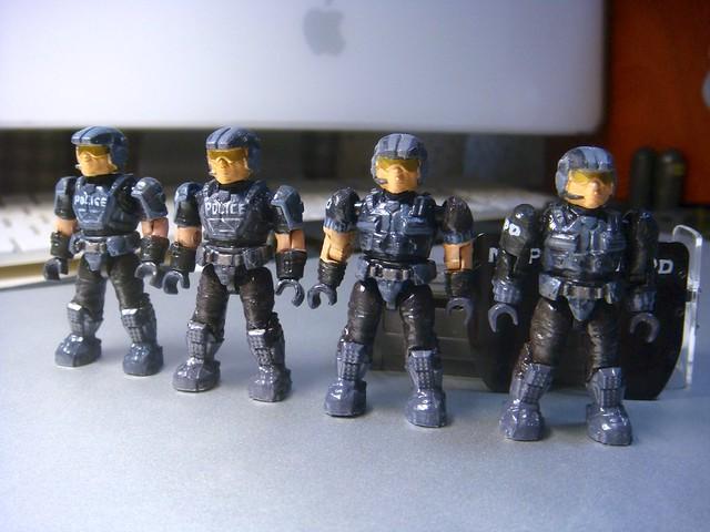 NMPD Police with riot shield! 9238536359_7c81e2219a_z