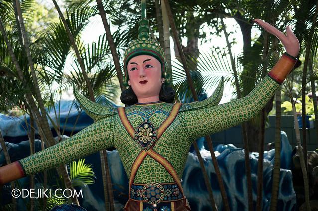 Haw Par Villa - dancer statue