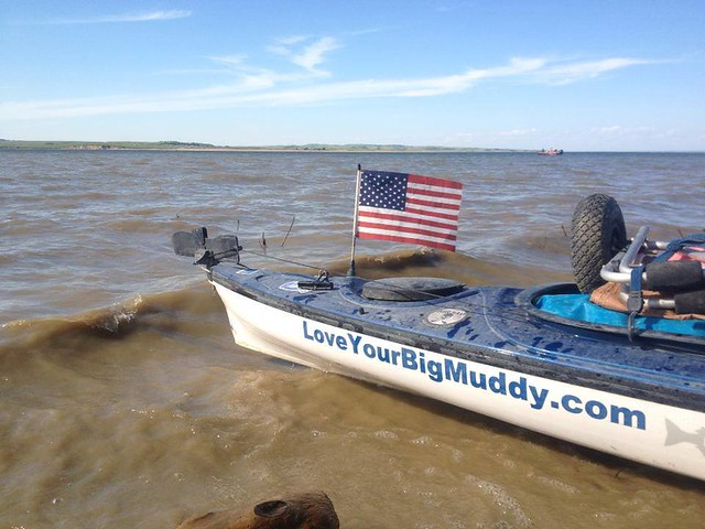 July 4 paddle