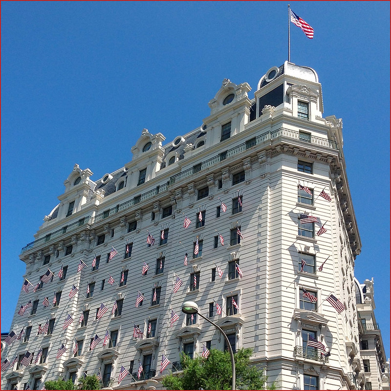 The Willard Hotel at 1401 Pennsylvania Avenue NW Washington (DC) -- Fourth of July Weekend 2013