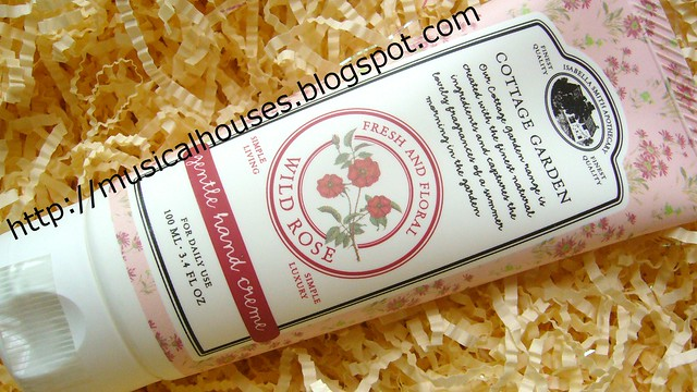 Isabella Smith Cottage Garden Wild Rose Hand Cream
