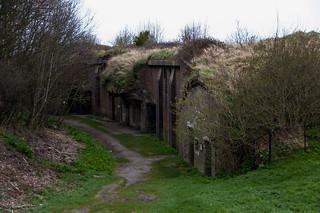 Saint Martin's Battery, ancienne fortification sur les hauteurs de Dover