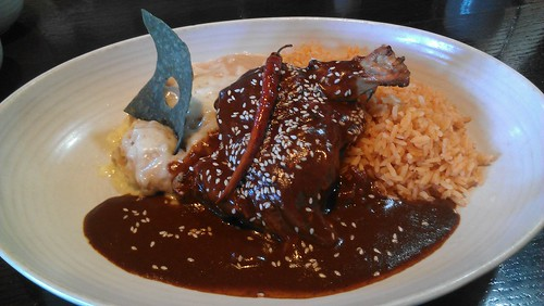 Sweet Mole and Grilled Chicken