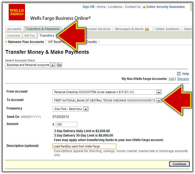 transfer from wells fargo online to prepaid card - Add Money To Prepaid Card With Checking Account