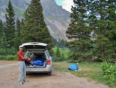 Yankee Boy Basin Car Camping Spot