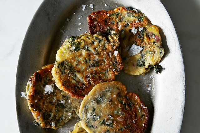 Green Pancakes on Food52