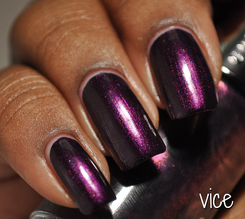 Shimmery Nail Polish Vice