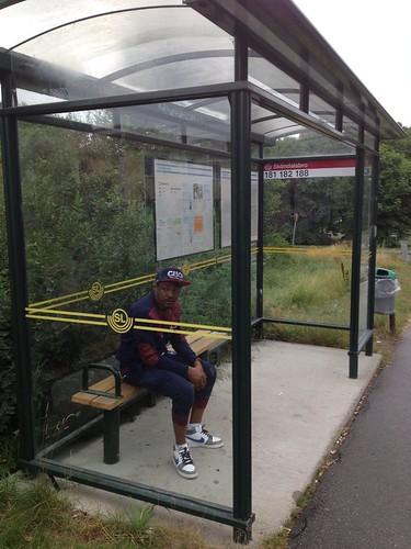 Redondo-at-bus-stop