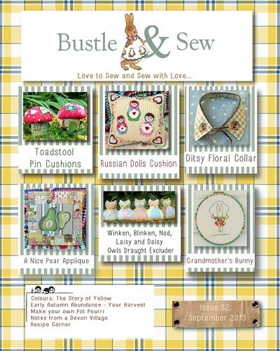 Bustle & Sew Magazine September 2013