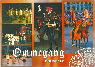 Ommegang Charles V entry in Brussels 1549