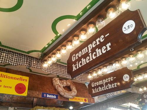 Gromperekichelcher at Schueberfouer