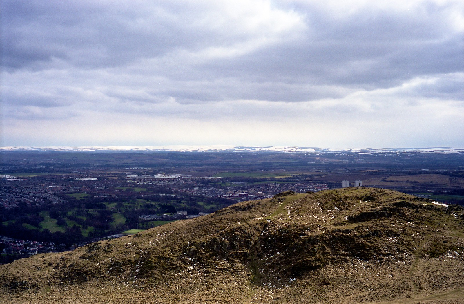 "Image titled ""At the peak, Arthur's Seat, Edinburgh."""