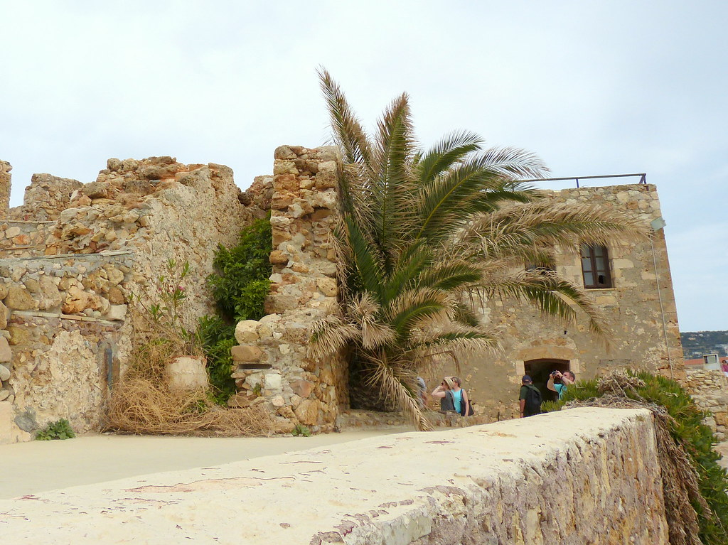 Ruins of bastion, Chania