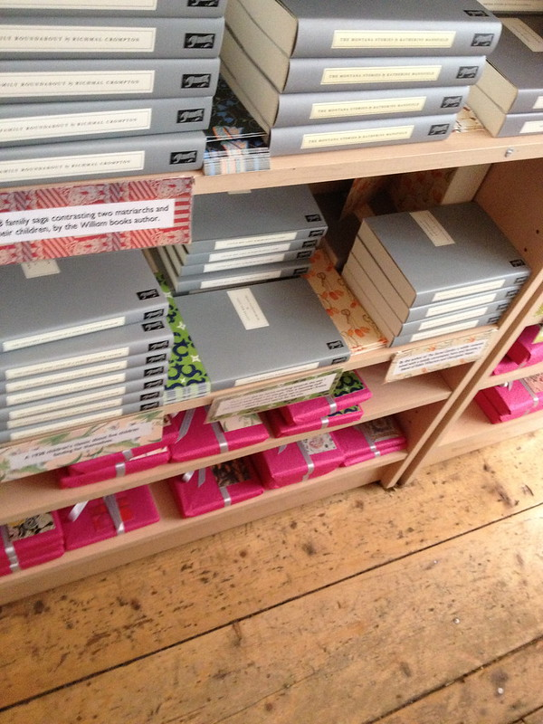 Pink & Grey at Persephone Books