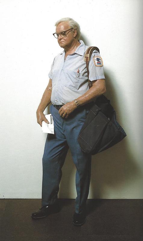 Duane Hanson, Mailman, 1982
