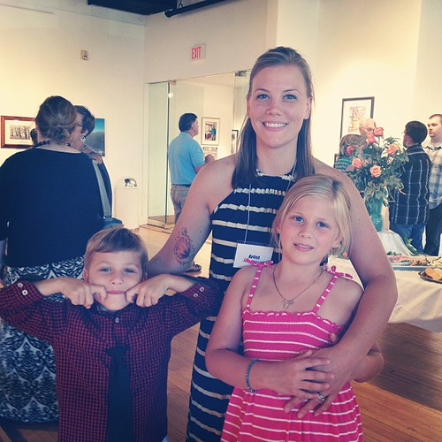 Wranglin' my favorites at the Holland Arts Opening tonight.