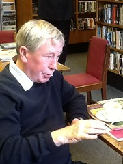 Recording oral histories at Padiham Library - 14.9.13