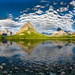 Grinnell Peak, Glacier National Park, Swiftcurrent Lake by Hassy Chick Kalai