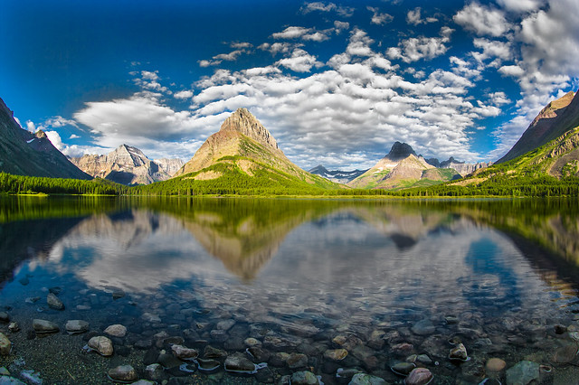 Grinnell Peak, Glacier National Park, Swiftcurrent Lake