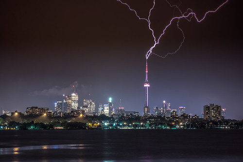 Lightning strikes twice, three times four