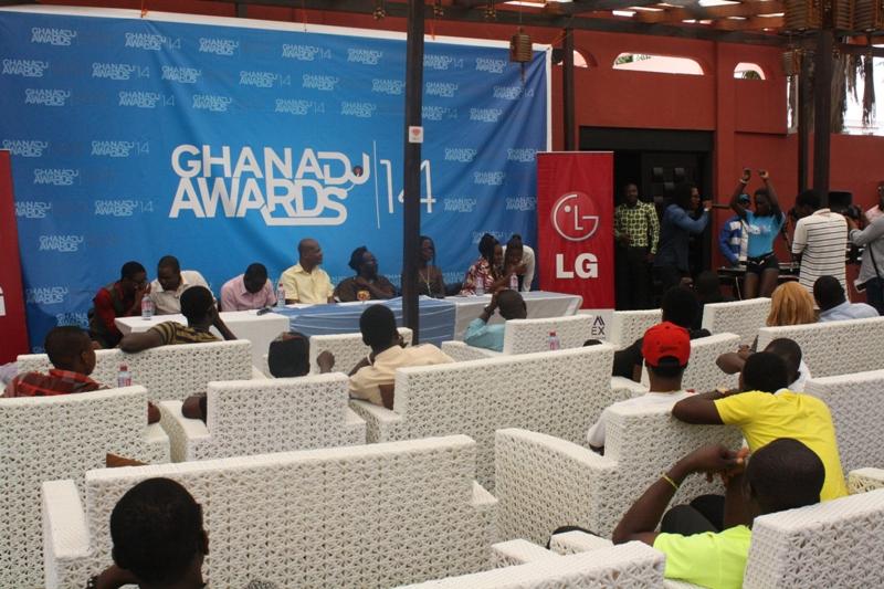 Ghana DJ Awards 2013 media briefing