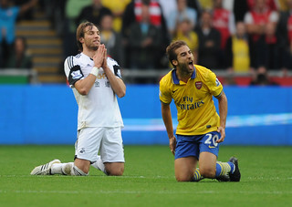 Mathieu Flamini of Arsenal