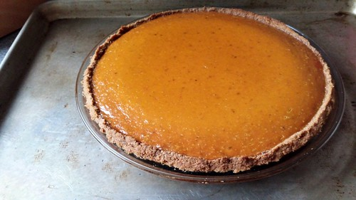 Ginger Not-Pumpkin Pie