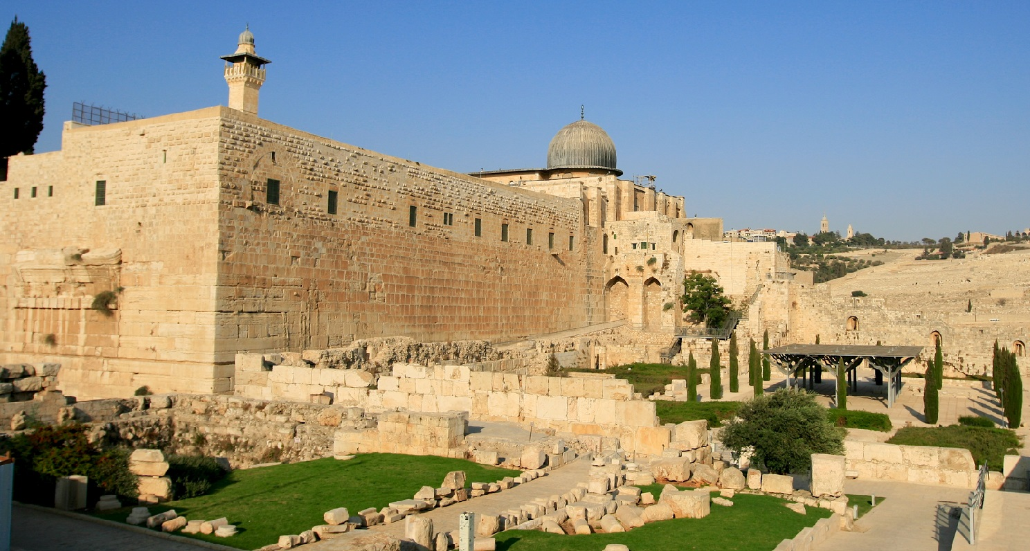 25. Muro del Sur, del Templo de Jerusalén. Autor, Aussie Active