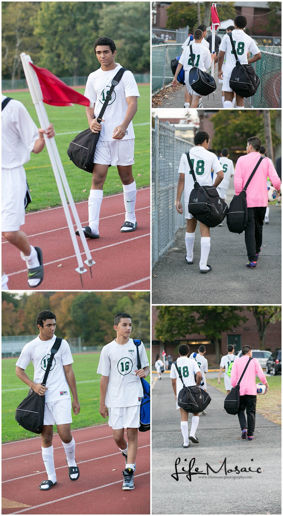 Freshman Soccer Collage WM