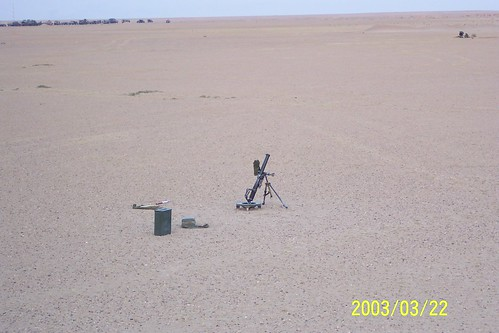 Iraq War, 60mm Mortar