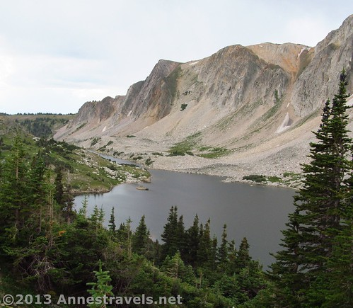 Lookout Lake from the Lakes Trail, Snowy Range, Medicine Bow National Forest, Wyoming